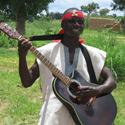 Griot du Burkina-Faso, guitare