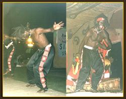 Kalifa, professeur de danse